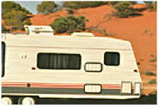 Air conditioners for caravans, motor homes and commercial mobile accommodation