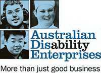 Disability service providing employment for people with a disability