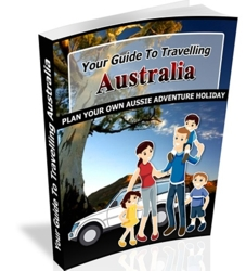 Australian holiday ebook, travel Australia