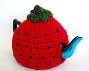 Austalian made crocheted bags, tea cosies,