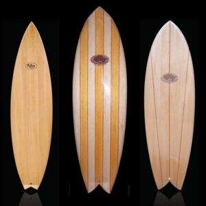 Riley classic balsa surfboards