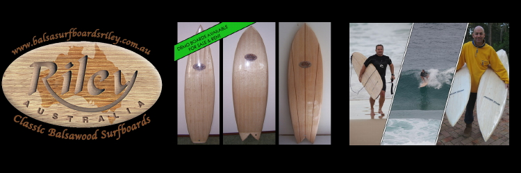 Australian made balsa woodsurfboards