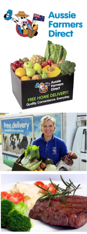 100% Aussie grown vegetables, fruit