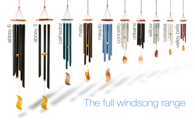 Australian made superior quality wind chimes