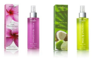 Aussie made body mist, rollon fragrance