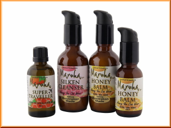 Australian made manuka honey silken cleansero