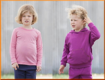 Australian made childrens kids woollen clothing