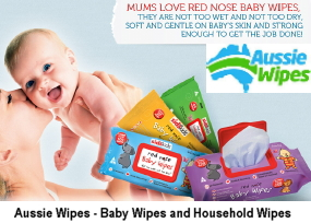 Australian made baby wipes and household wipes