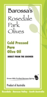 Australian grown, made olive oil