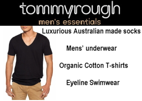 Australian made mens underwear, swimwear
